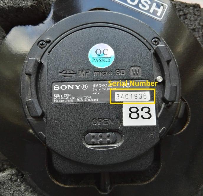 QX1 Serial Number-1