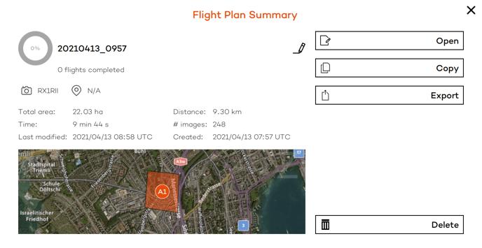 export flight plan