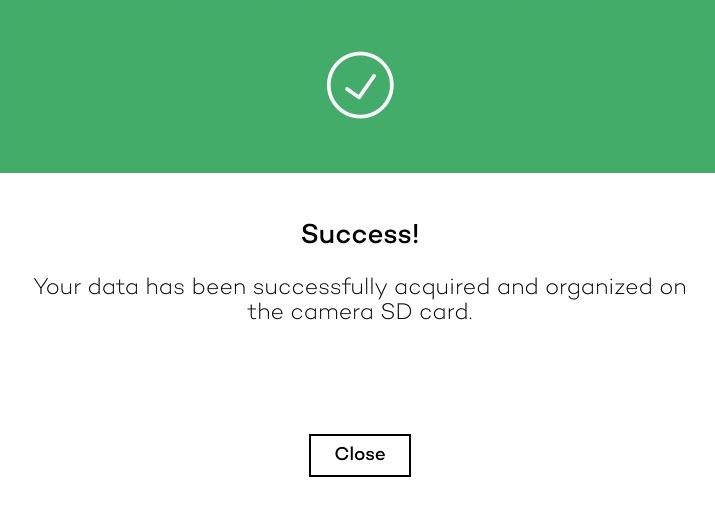 WiP_PostFlightNotification_SuccessfulData_window