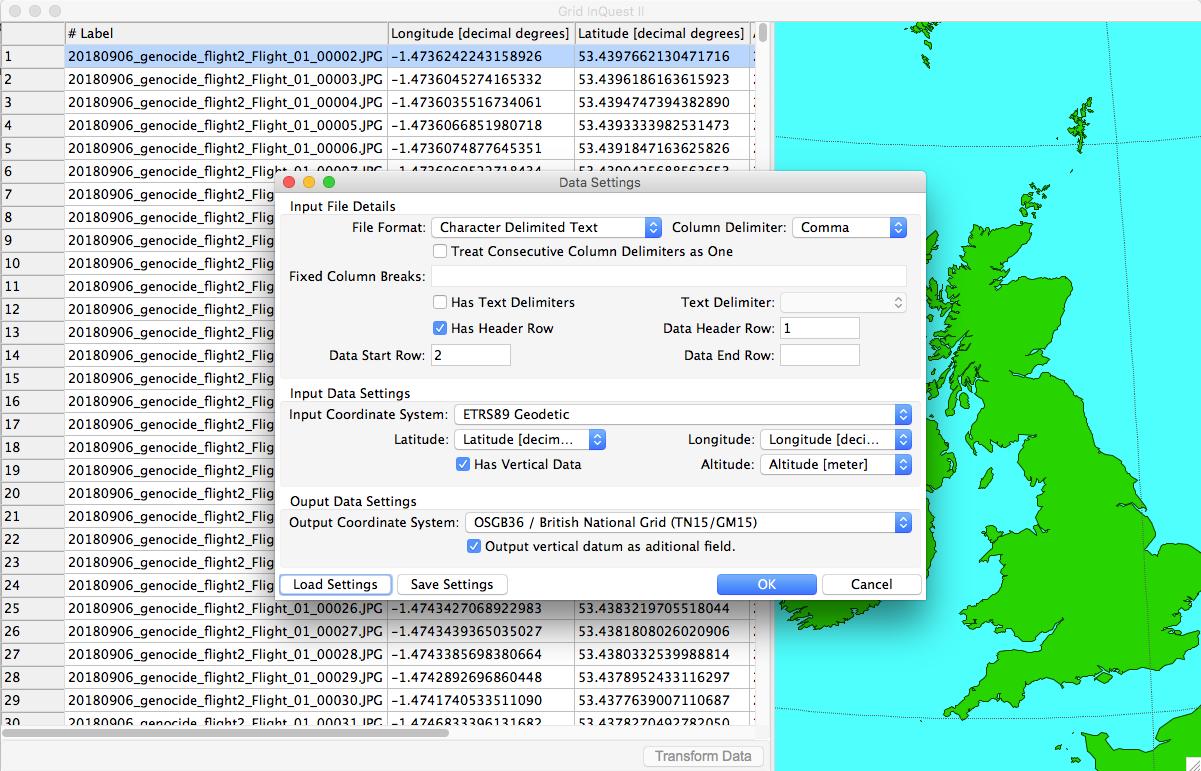 Grid InQuest II_settingsforcsv